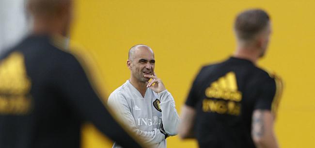 Foto: Martinez geeft hint over opstelling in troostfinale
