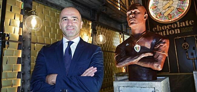 Foto: Hazard krijgt borstbeeld ... in chocolade
