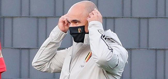 Foto: Blaasjes van de bondscoach: Martinez maakt brokken