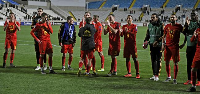 Foto: Eén Rode Duivel zorgt voor uitverkocht stadion in San Marino