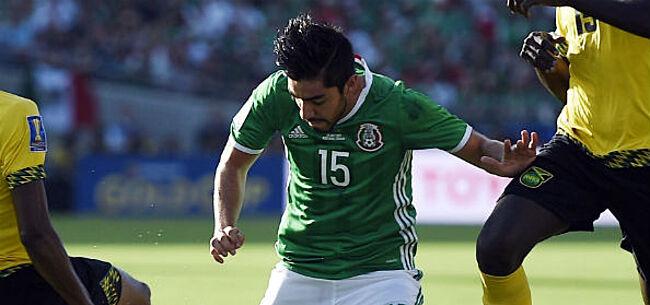 Foto: 'Mexicaanse middenvelder gooit roet in Belgische transferplannen'