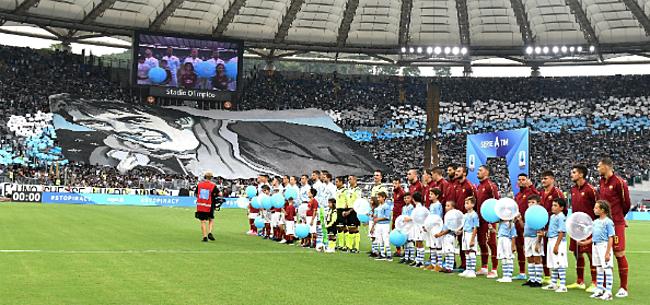 Foto: Romeinse derby eindigt op puntendeling