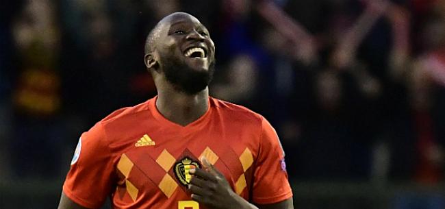 Foto: Lukaku overweegt in 2021 te stoppen bij België: