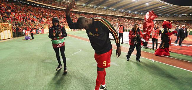 Foto: Lukaku doet beter dan Messi, Ronaldo en andere toppers in nationaal shirt