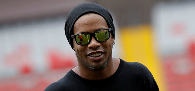 Foto: Ronaldinho nog dieper in de problemen door coronavirus
