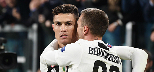 Foto: 'Juventus met verrassend maatje naast Ronaldo tegen Ajax'