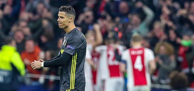 Foto: Sterk Ajax houdt kansen gaaf tegen Ronaldo, Barça wint op Old Trafford