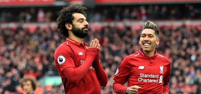 Foto: Mané en Salah houden Liverpool op titelkoers tegen Chelsea