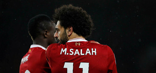 Foto: Liverpool 22(!) punten los dankzij scorende Salah en Mané