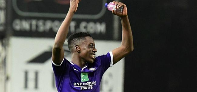 Foto: Anderlecht vindt tussenoplossing voor netelige situatie Lokonga