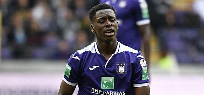 Foto: 'Anderlecht beeft: optie Sambi Lokonga wordt onderzocht'