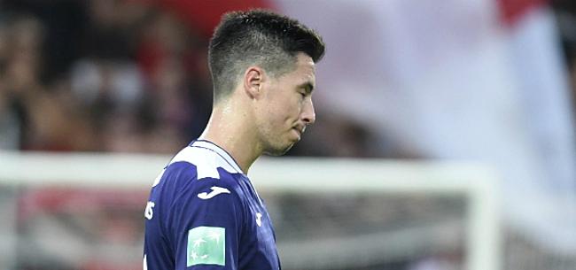 Foto: Anderlecht kan ook niet winnen van hekkensluiter en blijft in gevarenzone