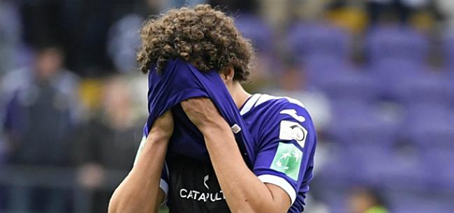 Foto: 'Anderlecht stuurt Sandler naar Spaanse wonderdokter'