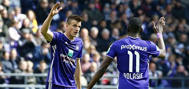 Foto: Santini laat zich uit over toekomst bij Anderlecht
