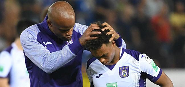 Foto: Kompany reageert na nieuwe tegenvaller Anderlecht