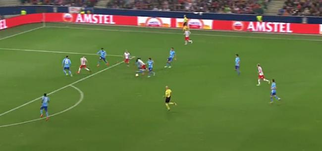 Foto: Video: Salzburg doet Marseille bibberen na onwaarschijnlijke dribbel