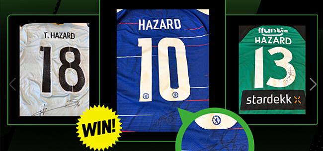 Foto: Waag je kans en win de gesigneerde shirts van de drie Hazard-broers!