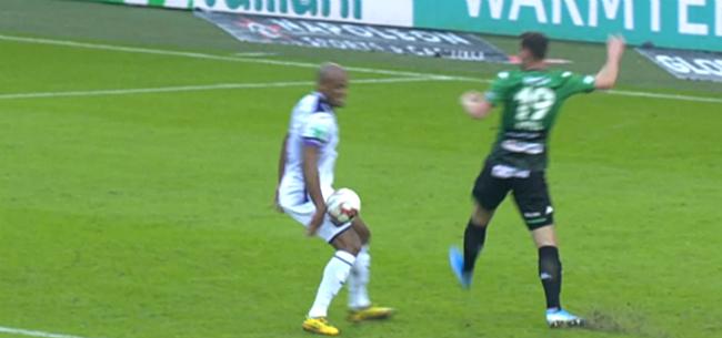 Foto: Oud-ref verbaast: