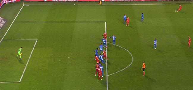 Foto: Randje buitenspel: waarom doelpunt Antwerp terecht goedgekeurd werd