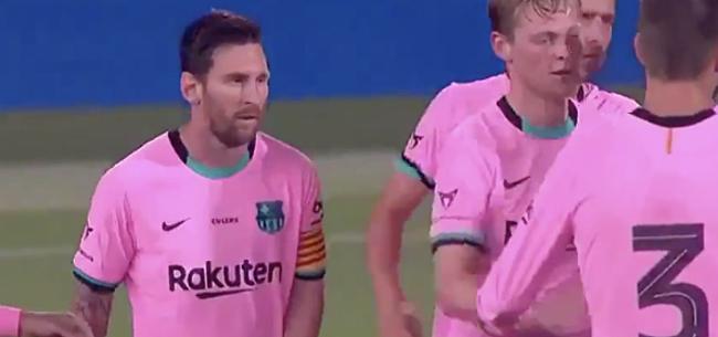 Foto: Koeman-effect: Barça wint opnieuw dankzij uitblinker Messi