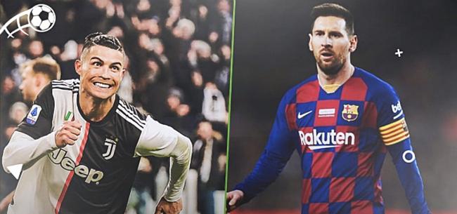 Foto: Messi en CR7 tillen concurrentiestrijd naar ongezien niveau