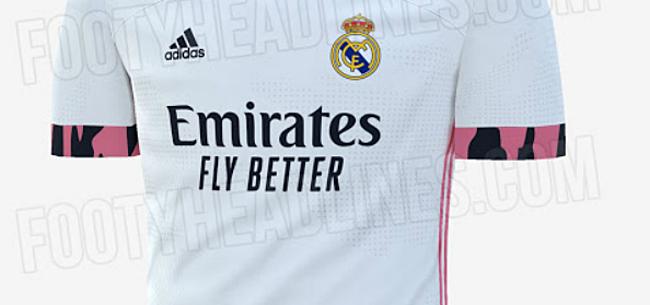 Foto: Nieuwe shirts Real gelekt: