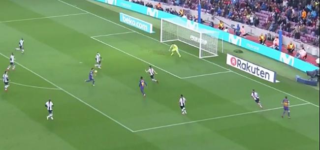 Foto: VIDEO: Ook Suarez opent teller op magistrale wijze