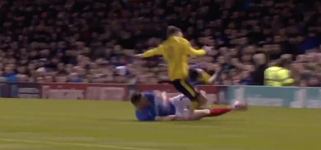 Foto: Bekerzege Arsenal overschaduwd door horror-blessure