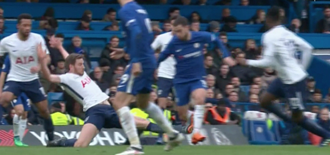 Foto: Vertonghen over horrortackle Hazard: