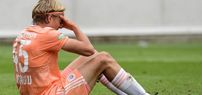 Foto: Anderlecht-talent haakt af bij nationale beloften, Walem kiest vervanger