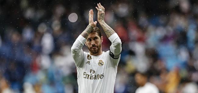 Foto: Ramos deelt fraai compliment uit aan Hazard