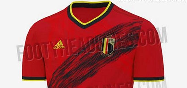 Foto: 'Nieuwe shirts Rode Duivels voorgesteld, inclusief nieuw logo'
