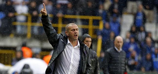 Foto: Davies weldra al ontslagen bij Anderlecht?