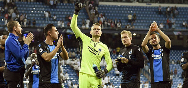 Foto: Mignolet krijgt ook bij Club Brugge goed nieuws
