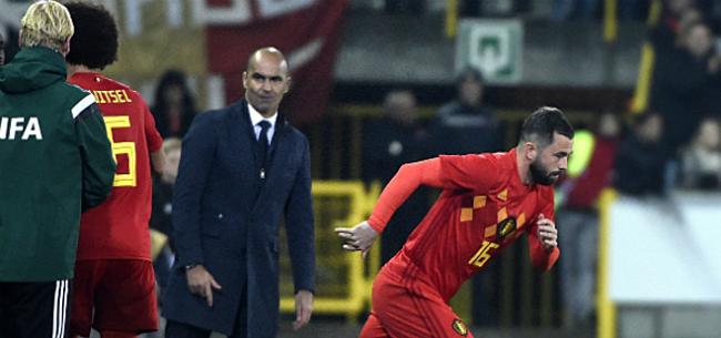 Foto: Neemt Martinez Defour dan toch mee naar het WK?
