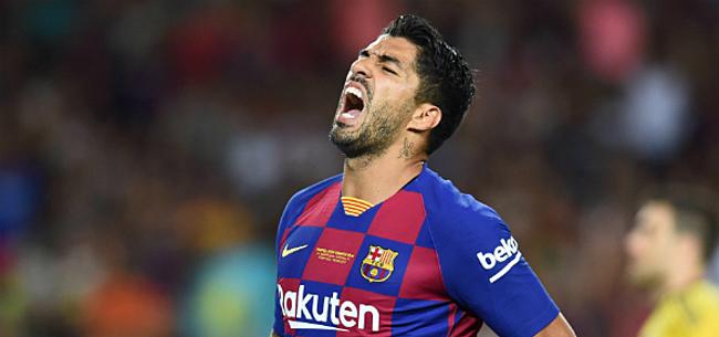 Foto: Barça lijdt meteen eerste nederlaag én ziet Suarez uitvallen