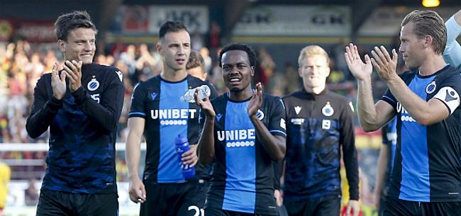 Foto: 'Drie Belgische clubs wilden Tau uit handen Club Brugge houden'