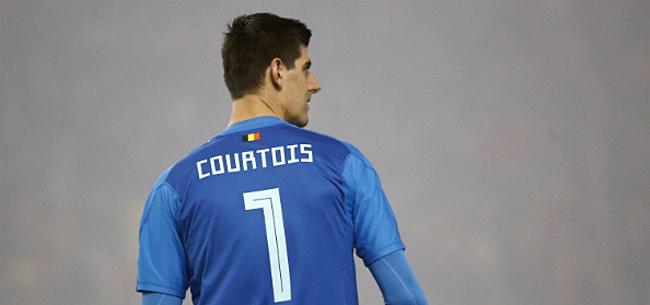 Foto: Martinez spreekt zich uit over situatie Courtois bij Real Madrid