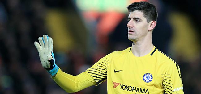 Foto: 'Courtois bezorgt Chelsea enorme domper'