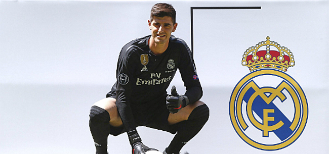 Foto: Courtois krijgt monsterloon bij Real Madrid