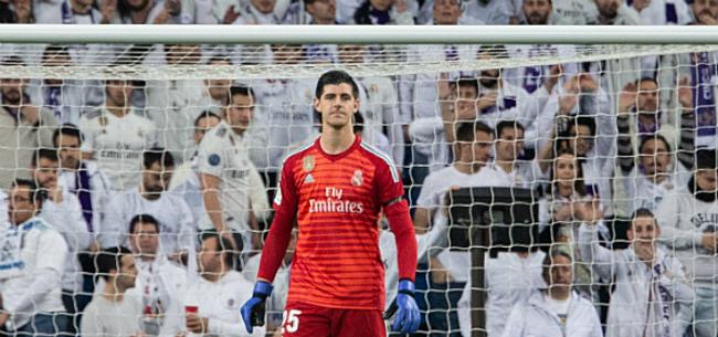 Foto: Courtois eindelijk weer in de basis bij Real Madrid