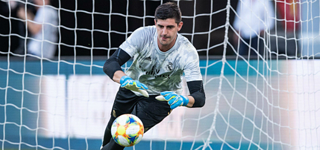 Foto: 'Courtois slaat Zidane met verstomming op training Real'