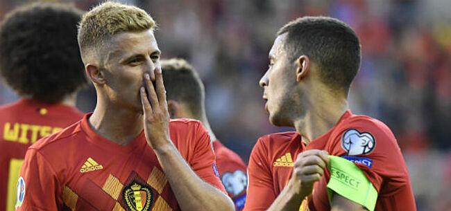 Foto: Kompany, Meunier en Tielemans presteren goed onder druk, broertjes Hazard niet