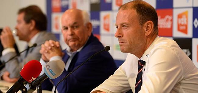Foto: 'AA Gent zet Vanhaezebrouck en trainer van concurrent op lijst'