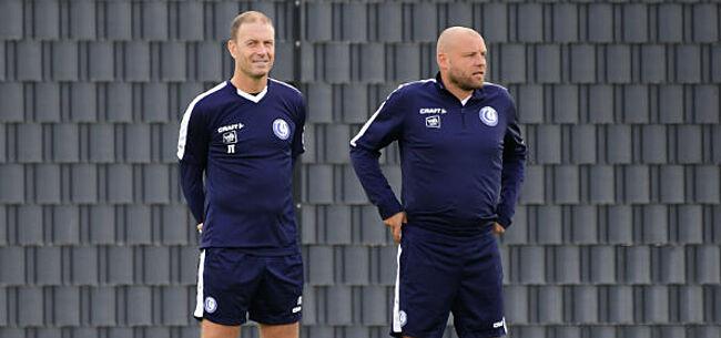 Foto: Na Dupre nog een trainer weg bij AA Gent