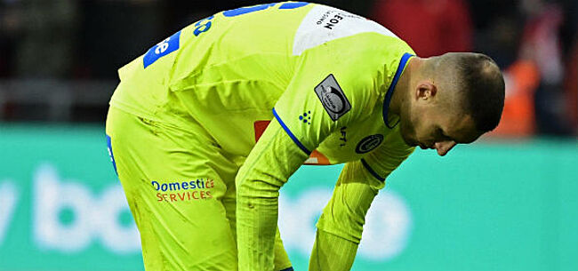 Foto: Gent-verdediger na tweede opinie dan tóch onder het mes