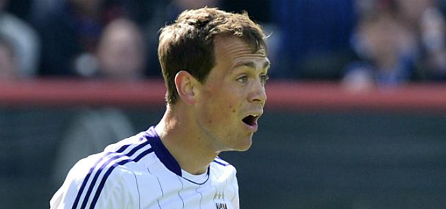 Foto: De Sutter over Anderlecht-periode: