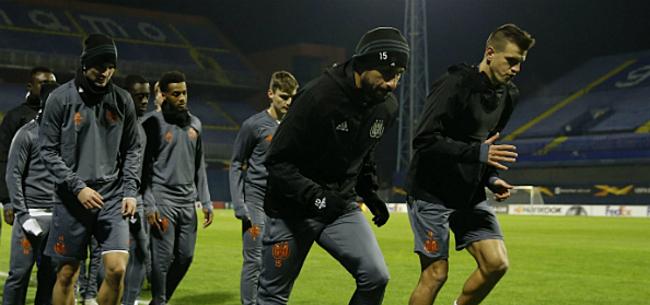 Foto: Verrassend gezicht op eerste training Anderlecht