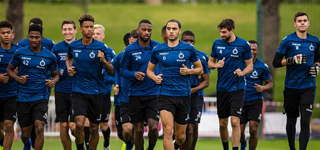 Foto: Club Brugge krijgt uitstekend nieuws van op trainingsveld