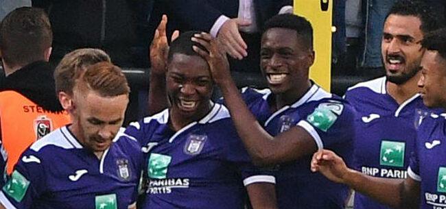 Foto: Anderlecht ziet twee spelers uit de A-kern terugkeren bij beloften